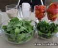 Израильский салат с кускусом